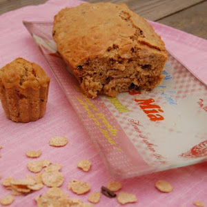 Cake with Cereal Flakes and Speculoos