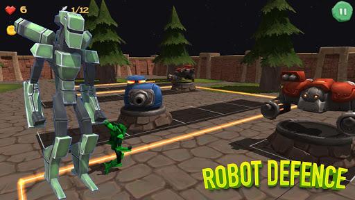 Robot Defense 3D TD