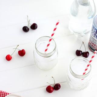How to make Cherry Italian Cream Soda 16 oz serving