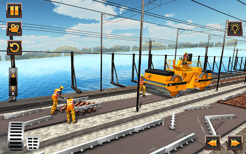 Indian Railway Bridge Builder: Train Games 2017- screenshot thumbnail