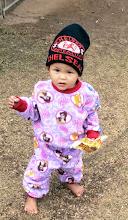 Photo: SDL visit Lahu child