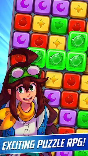Phoenix Rangers: Puzzle RPG apkpoly screenshots 1