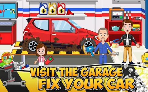My Town : Car wash fix & drive Mod Apk Download For Android 4