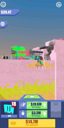 Idle Mars Digger screenshot 2