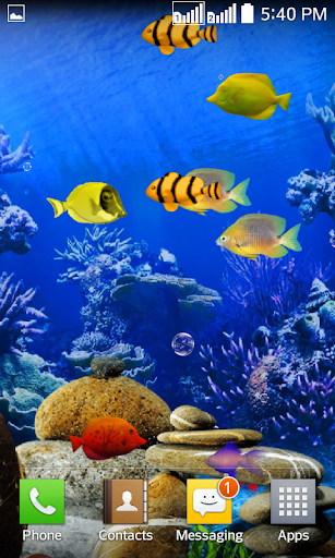 Fishes Live Wallpaper 2016