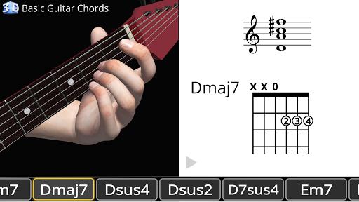 Guitar 3D - Basic Chords  screenshots 22