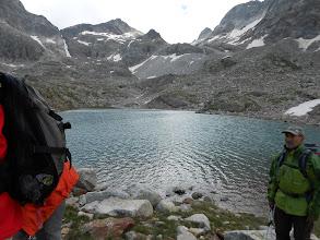 Photo: Gourg Blanc: lac du Milieu. (départ après le repas) 2528m.