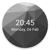 Low Poly Watch Face for Wear OS