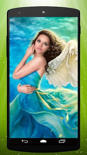 Sky Angel Live Wallpaper