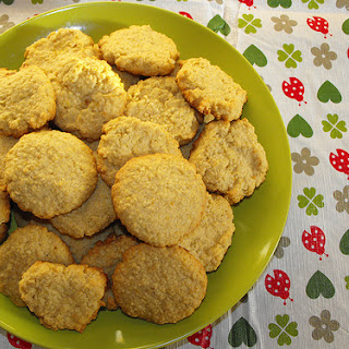 Coconut, Orange And Oats Biscuits.