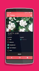 Flatty Juse Dark Cm12.x theme v3.6