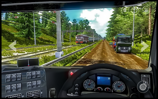In Truck Driving : City Highway Cargo Racing Games 1.0 screenshots 1