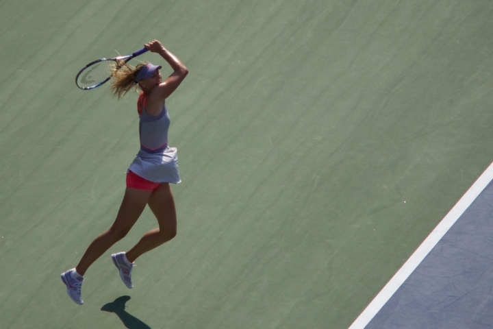 Maria Sharapova di mretina