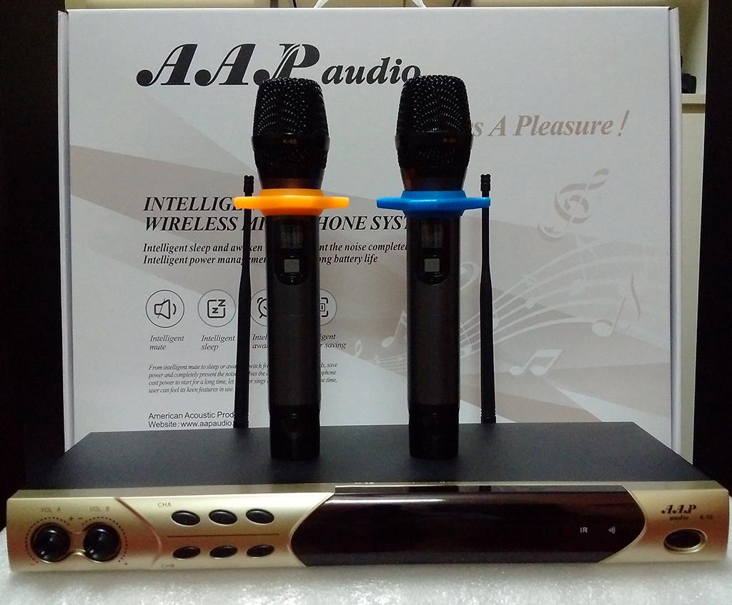 Bán Micro không dây AAP chính hãng, micro hát karaoke cực hay mà giá ưu đãi