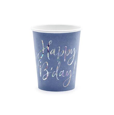 Muggar - Happy brithday, blå