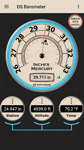 DS Barometer - Altimeter and Weather Information  screenshots 9