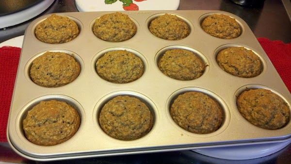 Preheat oven to 375°. Grease muffin pans (18 to 22 cups should be about...