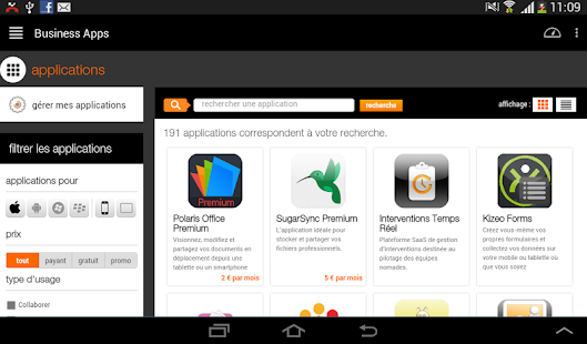 Orange Business Lounge- screenshot thumbnail