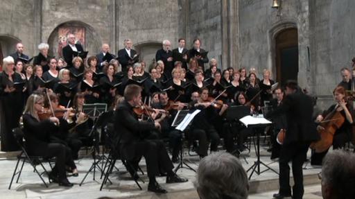 Concert du Choeur Lacordaire au profit du Projet de L'Arche à AIx en Provence