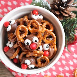 Chocolate Reindeer Pretzels Recipes