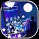 Romantic Love Night Gravity Theme