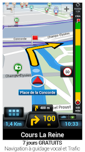 CoPilot GPS - Navigation– Vignette de la capture d'écran