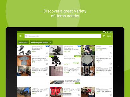 ebay kleinanzeigen for germany app report on mobile action. Black Bedroom Furniture Sets. Home Design Ideas