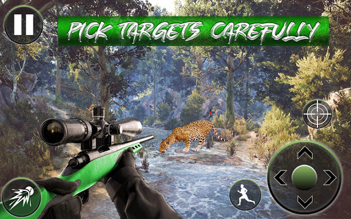 Code Triche Chasse sauvage 3d: Jungle Animal Hunting Games APK Mod screenshots 1