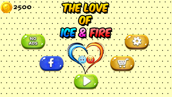 Love Balls : Ice and Fire Screenshot
