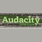 Logo of Audacity Brew House Black Widow