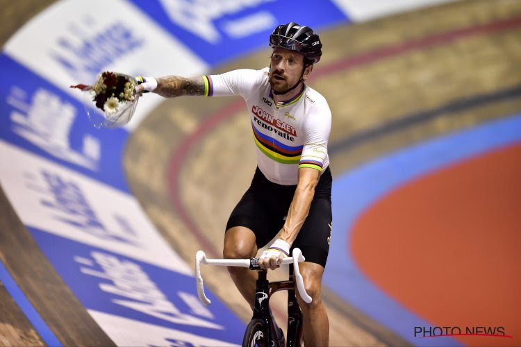 "Wiggins laat zich helemaal gaan in de Gentse Vooruit: ""Patrick Sercu is grootste baanwielrenner ooit"""