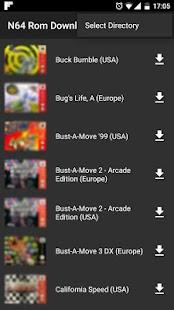N64 Rom Downloader - náhled