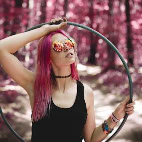 by Jeffrey Zoss - People Portraits of Women ( girl, nature, beautiful, lady, pink )