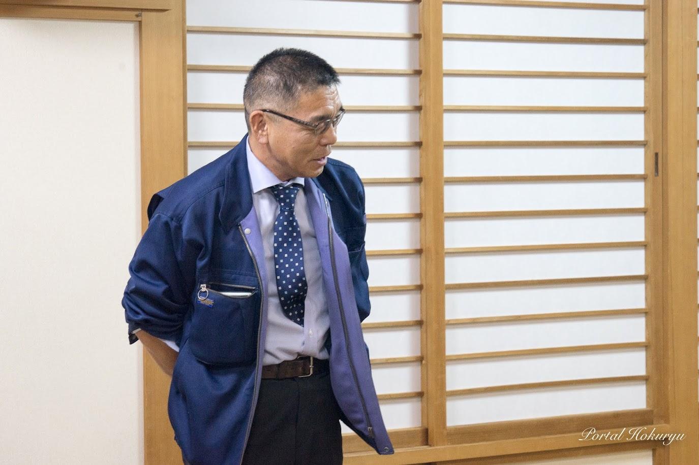 (株)大学農園・関憲秀 次長
