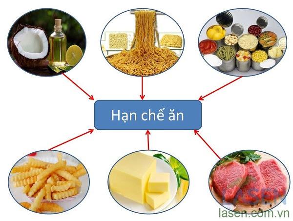 Nhóm thực phẩm nên hạn chế ăn đối với người mỡ máu