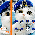 Cat Theme Blue Mantle of Uniformed Hat icon