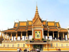 Photo: Phnom Penh - Pałac Królewski, Pawilon Chanchhaya / Royal Palace, Chanchhaya Pavilion