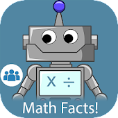 Math Facts Fluency: x ÷