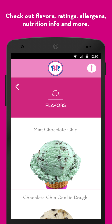 Baskin-Robbins- screenshot