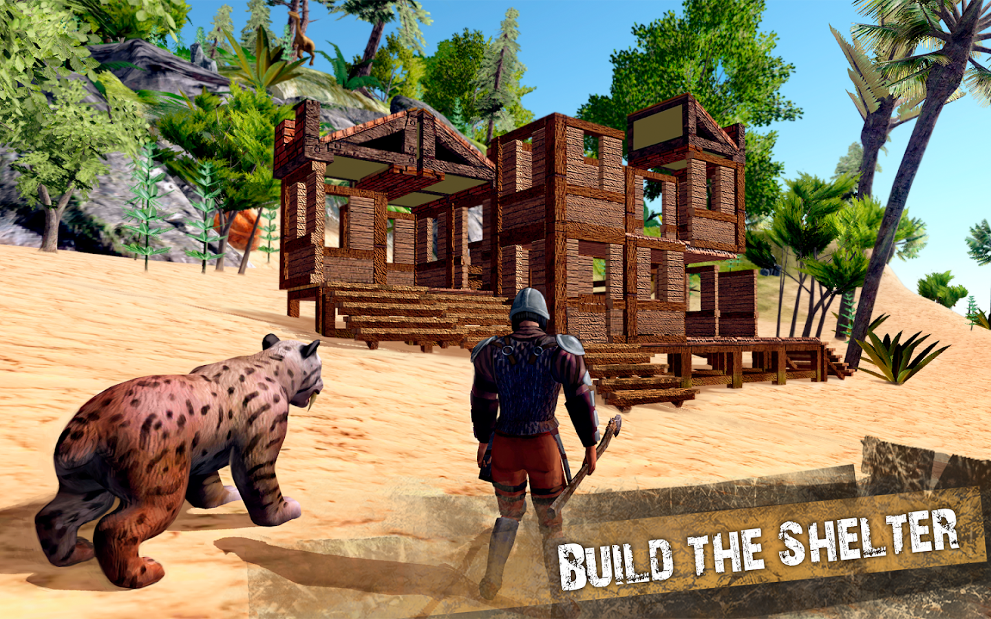 The Ark of Craft: Dinosaurs Survival Island Series- screenshot