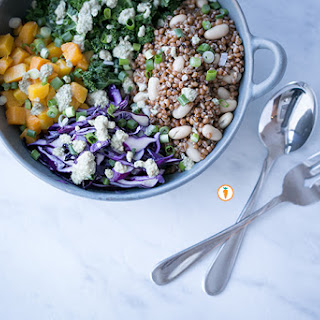 Roasted Butternut Salad Bowl