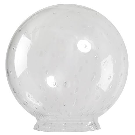 Westal glasglob (Ø 300mm fläns 100mm)