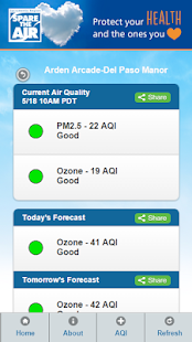 Sacramento Region Air Quality- screenshot thumbnail