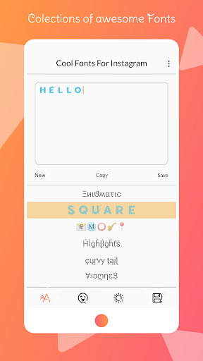Foto do Font for Intagram - Beauty Font Style