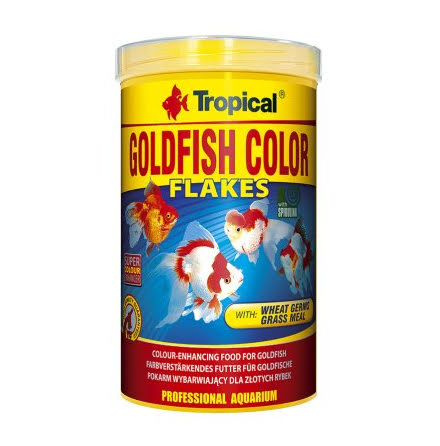 Tropical Goldfish Color Flakes 1000ml/200g