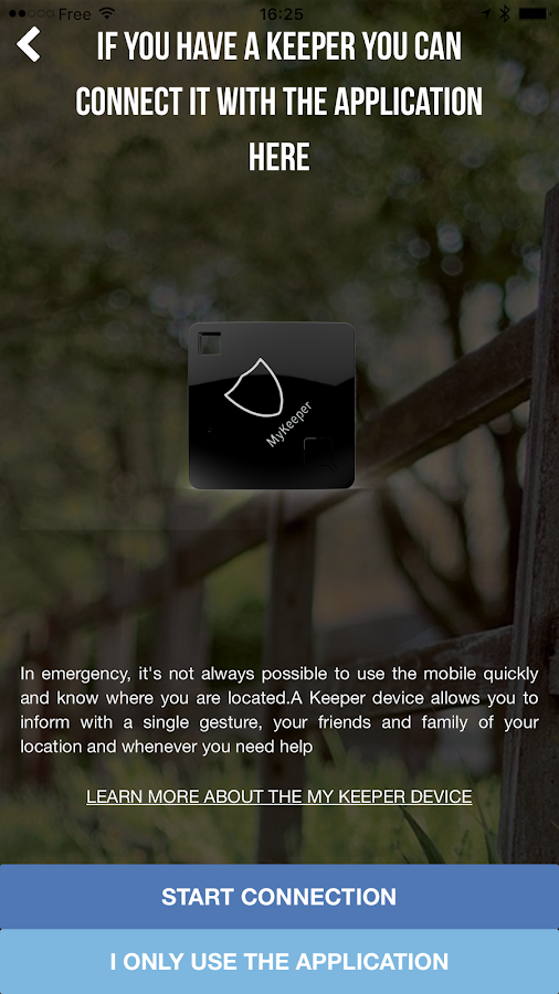 My Keeper: Personal safety app- screenshot