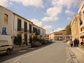 Photo: Route towards the Archbishop house in old Nicosia