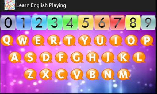 英語プレイを学びます
