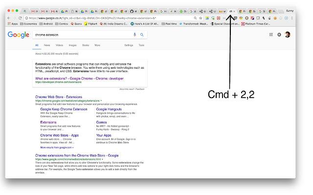 Chrome Two-Digit Tab Switcher