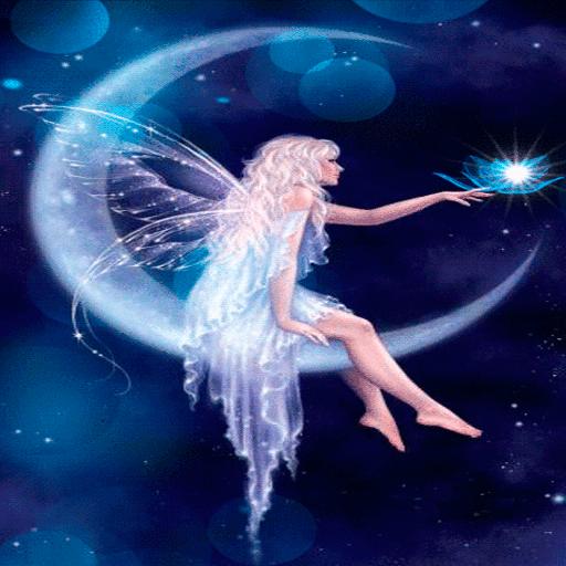 Moon Fairy Live Wallpaper